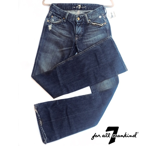 """7 For All Mankind Denim - 7 For All Mankind """"A"""" pocket flare jeans"""